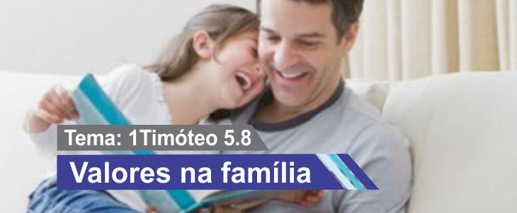 Valores na família
